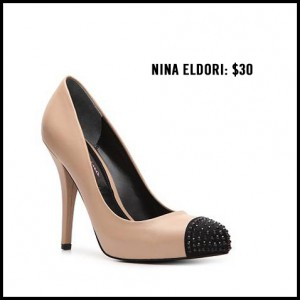 Nina Eldori Cap Toe