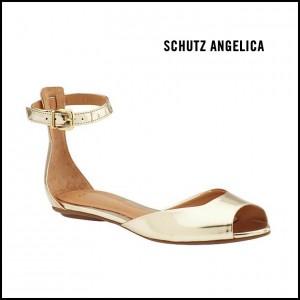 Schutz Angelica Metallic Sandal
