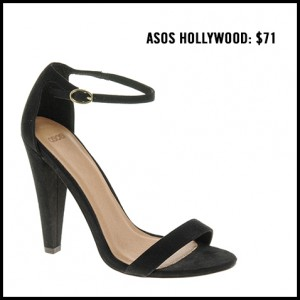 Asos Hollywood Ankle Strap Pump