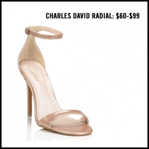 Charles David Radial Ankle Strap Pump