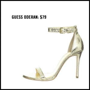 Guess Oderan Ankle Strap Pump
