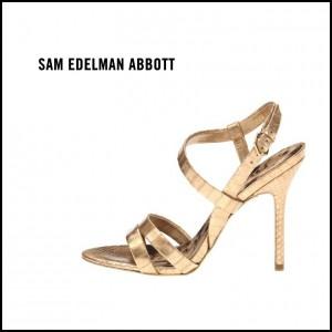 Sam Edelman Abbott Gold Sandal