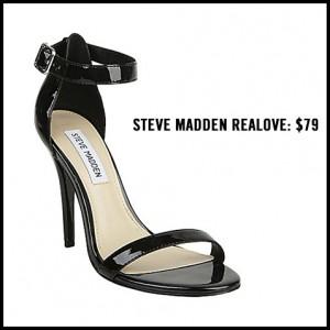 Steve Madden Realove Ankle Strap Pump