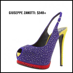 Giuseppe Zanotti Crystallized Slingback