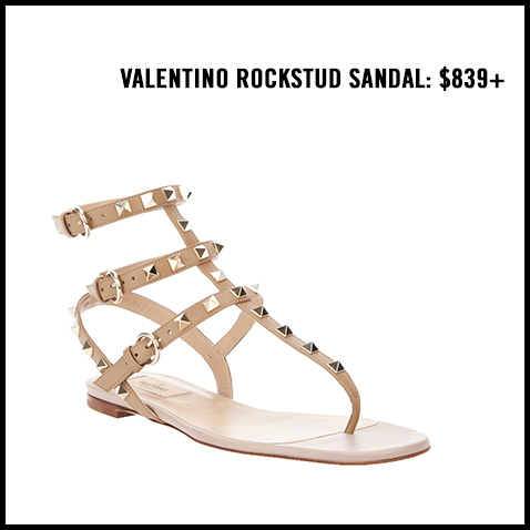 Valentino-Rockstud-Flat-Sandal