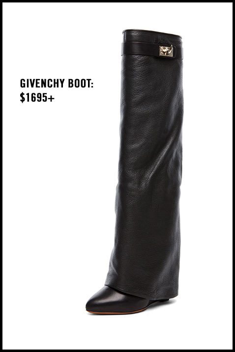 Givenchy-Fold-Over-Boot-Sharktooth-Buckle