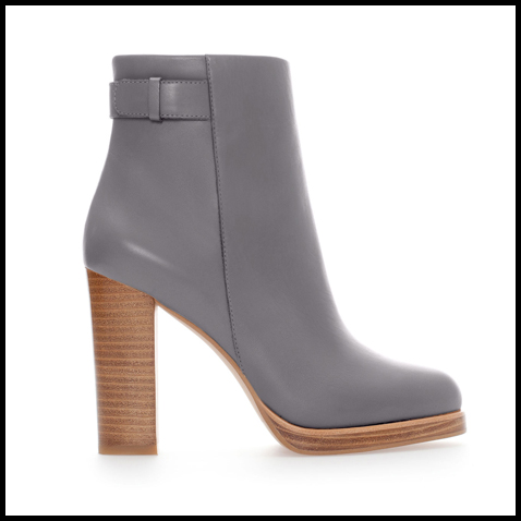 Zara-Grey-Ankle-Boot