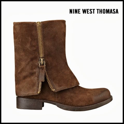 Nine-West-Thomasa-Brown-Suede-Ankle-Boot-with-Zipper