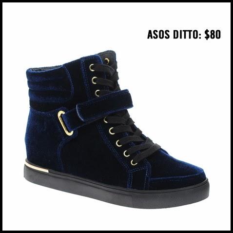 Asos-Ditto-Blue-Velvet-High-Top-Sneaker