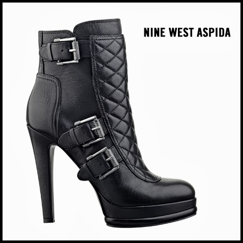 Nine-West-Aspida-Quilted-Buckled-Ankle-Boot