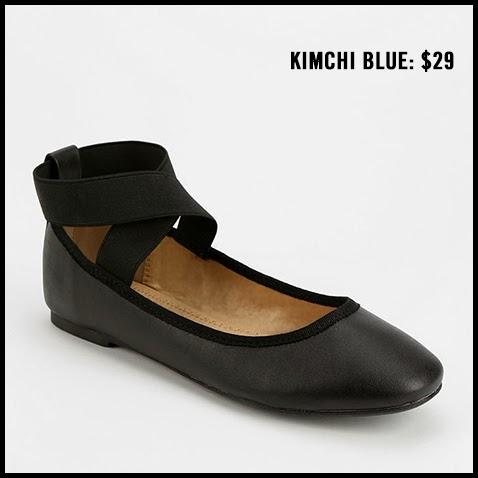Kimchi-Blue-Elastic-Cross-Strap-Flat