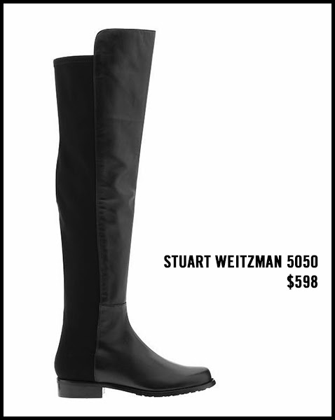 Stuart-Weitzman-5050-Fabric-and-Leather-Tall-Boots