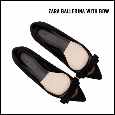 Zara-Suede-Ballerina-Flat-with-Bow
