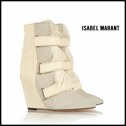 Isabel-Marant-Leather-and-Calf-Hair-Wedge-Boots