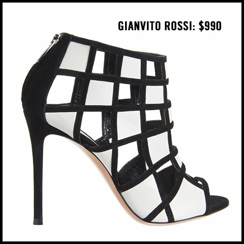 Gianvito-Rossi-Geometric-Black-and-White-Bootie