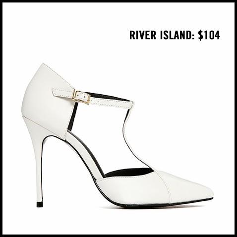 River-Island-White-T-Strap-Pump