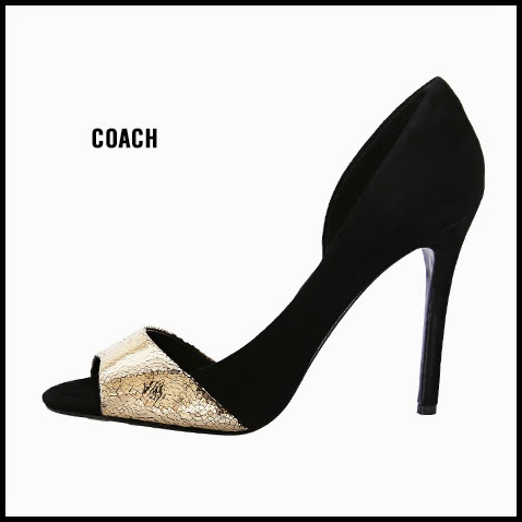 Coach-Lytton-Gold-and-Black-D-Orsay-Pump
