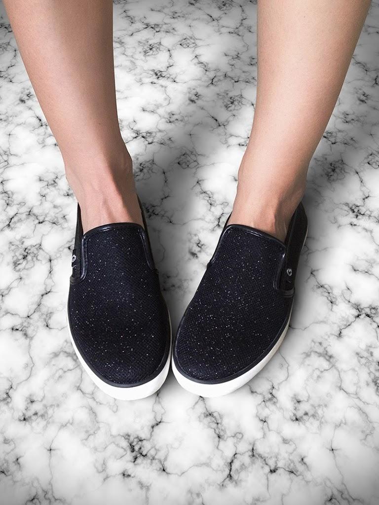 G-by-Guess-Malden-Black-Glitter-Flat-Sport-Sneaker