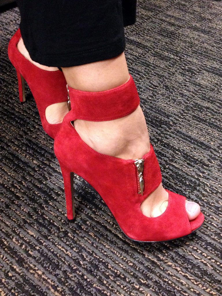 Enzo Angiolini Nyambi Red Suede