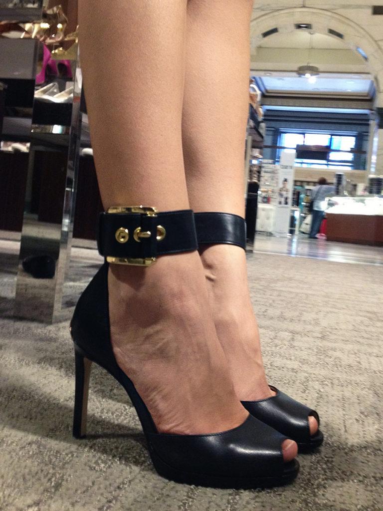 Michael Kors Calder Ankle Strap Pump