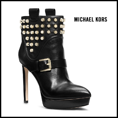 Michale Kors Bryn Studded Ankle Boot