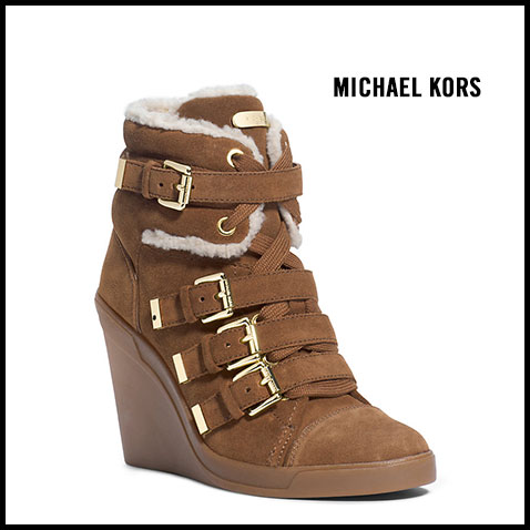Michael Kors LIzzie Wedge Sneaker