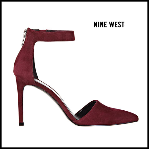 Nine West Cate Ankle Strap Pump
