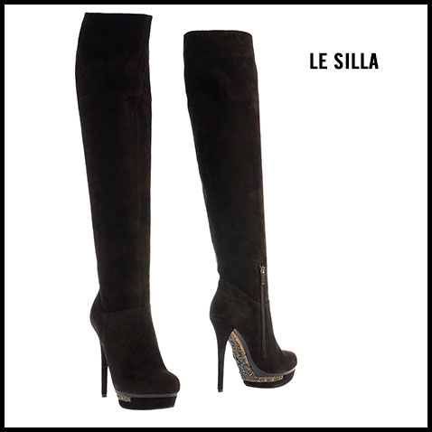 Le Silla Embellished Sole Boots