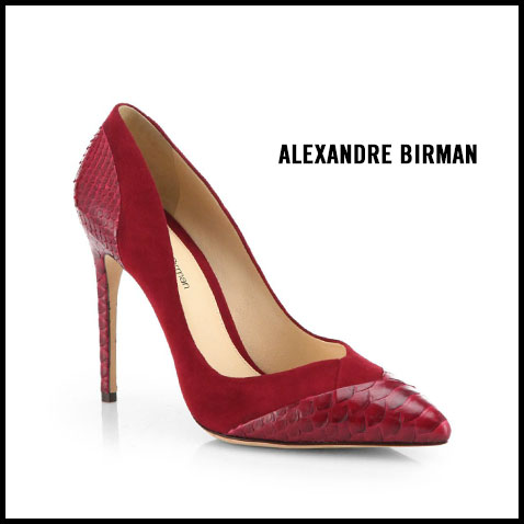 Alexandre-Birman-Python-and-Suede-Pumps
