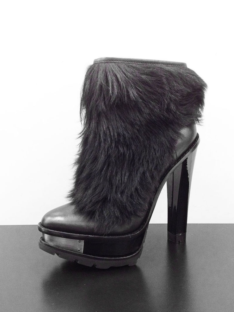 B Brian Atwood Taralle Fur Boots